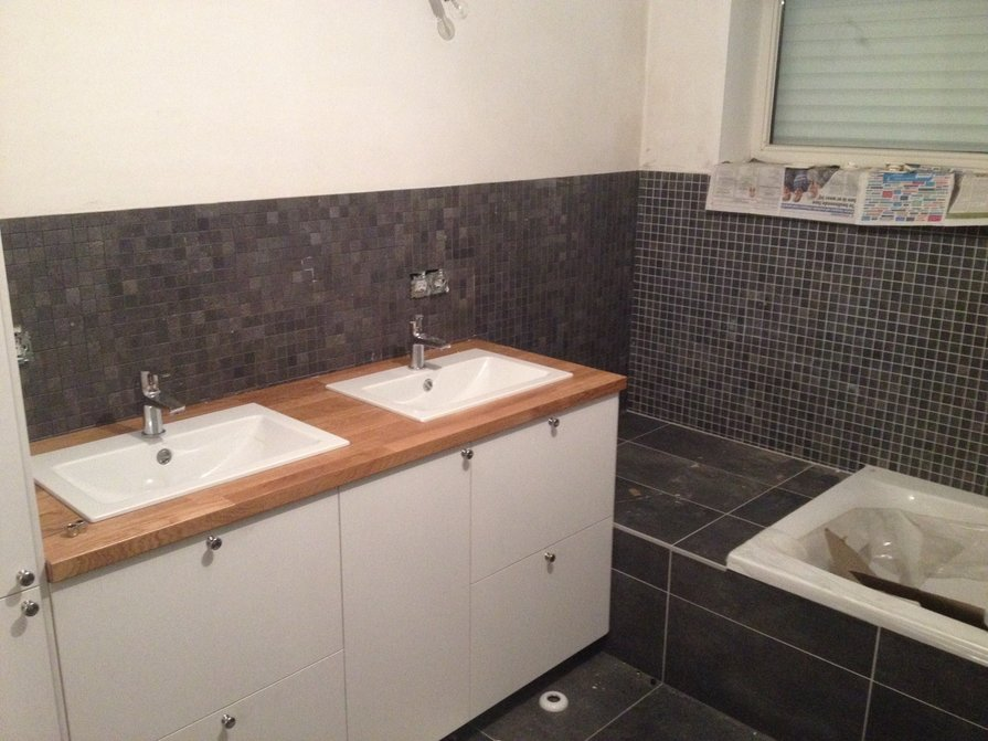 Badkamer renovatie Roeselare