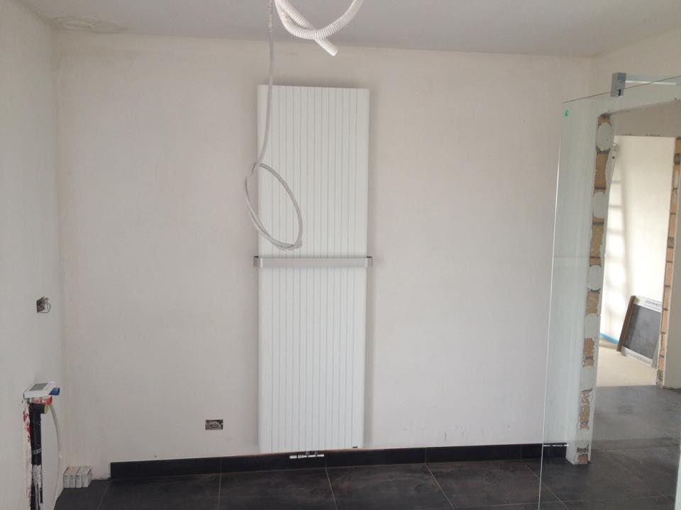Plaatsing radiator badkamer